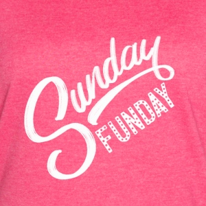 White - Sunday Funday - Women's Vintage Sport T-Shirt