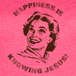 Happiness is knowing JC Brown - Women's Vintage Sport T-Shirt