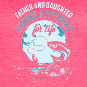 Father & Daughter Fishing Partners For Life Shirt - Women's Vintage Sport T-Shirt