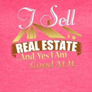 Real Estate Agent Tee Shirt - Women's Vintage Sport T-Shirt