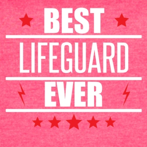 Best Lifeguard Ever - Women's Vintage Sport T-Shirt