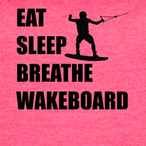 Eat Sleep Breathe Wakeboard - Women's Vintage Sport T-Shirt
