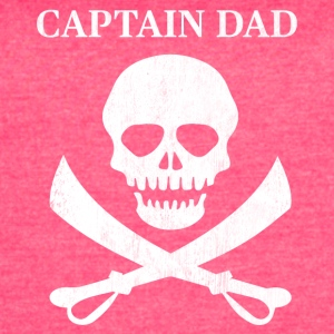 Funny Captain Dad Pirate Lover Fun Halloween - Women's Vintage Sport T-Shirt