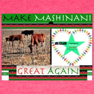 Make Mashinani great again. - Women's Vintage Sport T-Shirt
