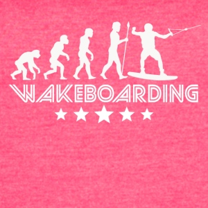 Retro Wakeboarding Evolution - Women's Vintage Sport T-Shirt