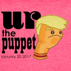 Trump Puppet Inauguration - Women's Vintage Sport T-Shirt