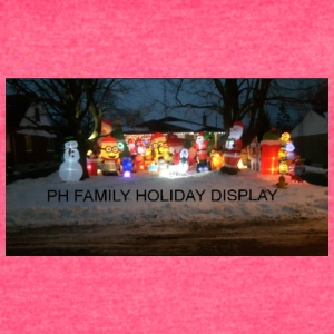 PH FAMILY HOLIDAY DISPLAY - Women's Vintage Sport T-Shirt