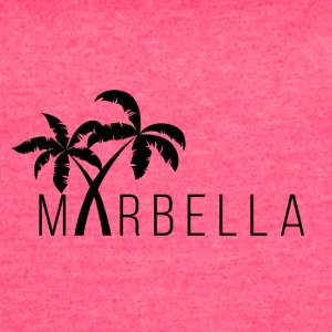 Marbella Palm Trees - Women's Vintage Sport T-Shirt