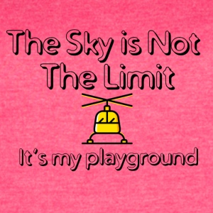 The sky is not the limit - Women's Vintage Sport T-Shirt