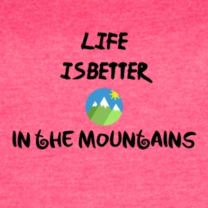 Life in the mountains - Women's Vintage Sport T-Shirt