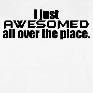 i just awesomed - Women's Vintage Sport T-Shirt