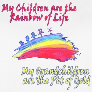 Grandkids are the Pot of Gold - Women's Vintage Sport T-Shirt