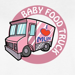 Pink baby food truck - Women's Vintage Sport T-Shirt