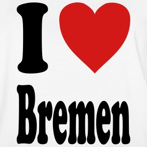 I love Bremen (variable colors!) - Women's Vintage Sport T-Shirt
