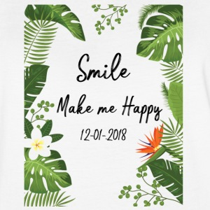 Smile make me happy - Women's Vintage Sport T-Shirt