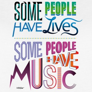 Some People Have Music - Women's Vintage Sport T-Shirt