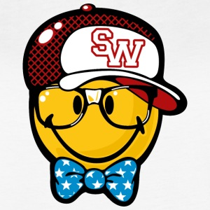 SmileyWorld Preppy Boy with Cap - Women's Vintage Sport T-Shirt