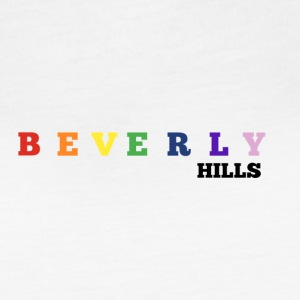 BEVERLY HILLS RAINBOW - Women's Vintage Sport T-Shirt
