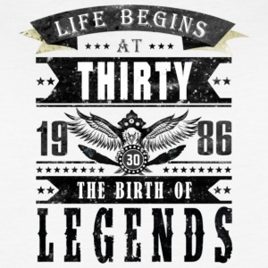 Birth of Legends T Shirt - Women's Vintage Sport T-Shirt