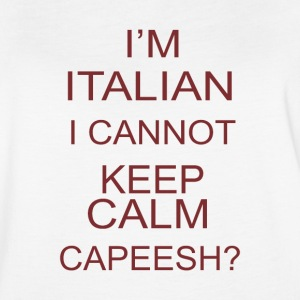 I m italia i cannot keep calm capeesh coffee - Women's Vintage Sport T-Shirt