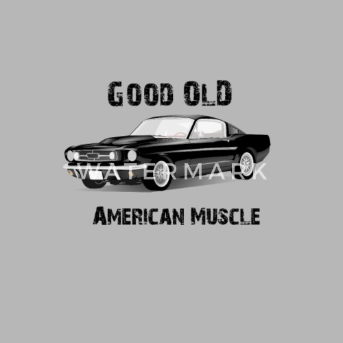 Good Old American Muscle Car By Spreadshirt