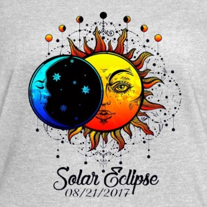 Total Solar Eclipse 2017 Sun and Moon Ancient - Women's Vintage Sport T-Shirt