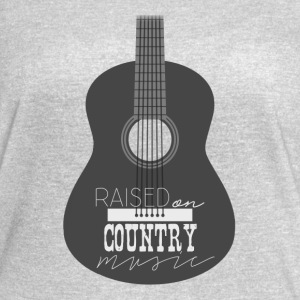 Raised On Country Music - Women's Vintage Sport T-Shirt