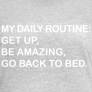 My Daily Routine - Women's Vintage Sport T-Shirt