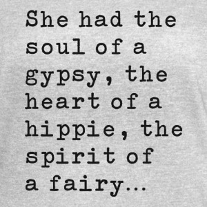 Soul Of A Gypsy - Black - Women's Vintage Sport T-Shirt