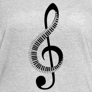 Music note treble clef - Women's Vintage Sport T-Shirt