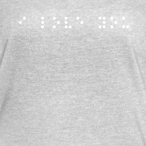 braille i love you - Women's Vintage Sport T-Shirt