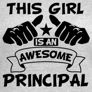 This Girl Is An Awesome Principal - Women's Vintage Sport T-Shirt