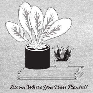 Plant illustration - Women's Vintage Sport T-Shirt