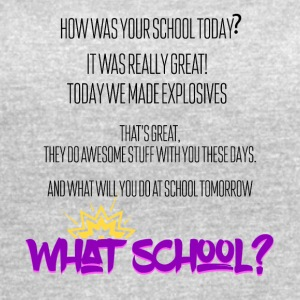 How was your school today? - Women's Vintage Sport T-Shirt