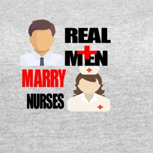 Real Men marry nurses - Women's Vintage Sport T-Shirt