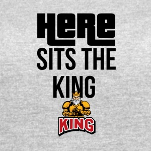 Here sits the KING - Women's Vintage Sport T-Shirt