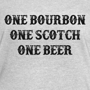 One Bourbon, One Scotch, One Beer - Women's Vintage Sport T-Shirt
