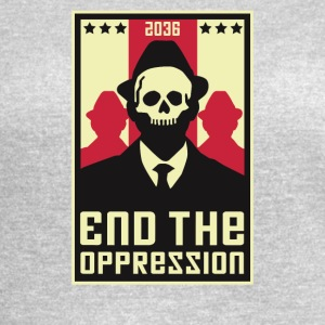 End The Oppression - Women's Vintage Sport T-Shirt