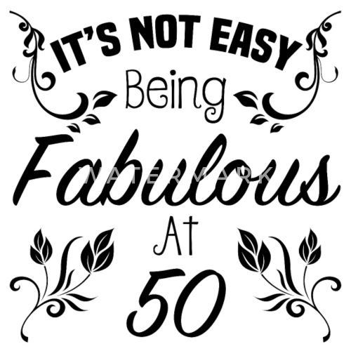 Fab 50 Girls: Fabulous 50th Birthday By Zennykenny