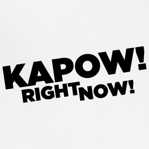 Kapow Right Now Logo - Adjustable Apron