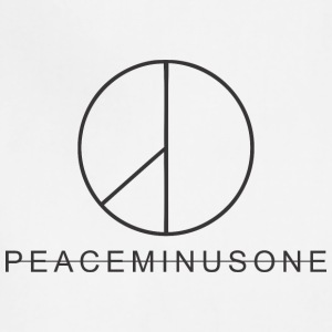 peaceminusone black - Adjustable Apron