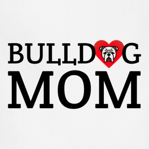 bulldog mom - Adjustable Apron