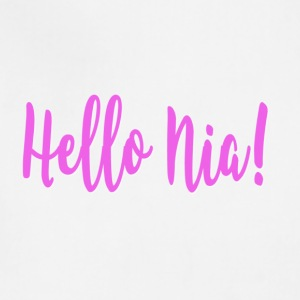 Hello Nia! - Adjustable Apron