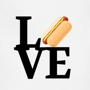 Hot Dog Love - Adjustable Apron