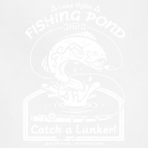 Fishing Pond Catch A Lunker T Shirt - Adjustable Apron