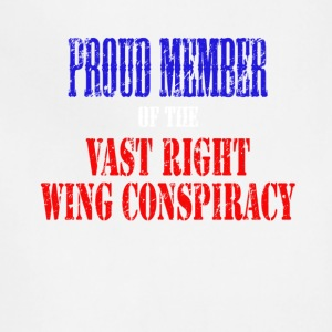 Proud Member of the Vast Right Wing Conspiracy - Adjustable Apron