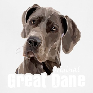 Great Dane Tshirt - Adjustable Apron