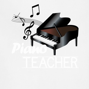 Piano Teacher Tee Shirts - Adjustable Apron