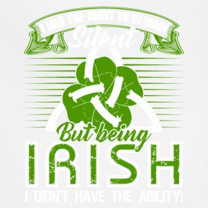 Being Irish Tee Shirt - Adjustable Apron