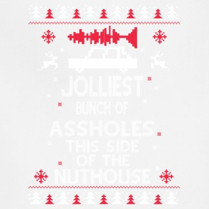 Jollliest bunch of assholes - Adjustable Apron